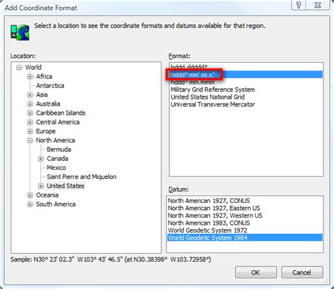 latitude format converter converting dms coordinates to degrees of latitude and