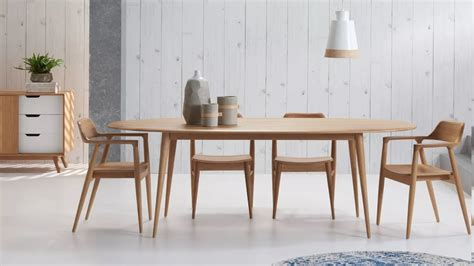 oval dining table domayne