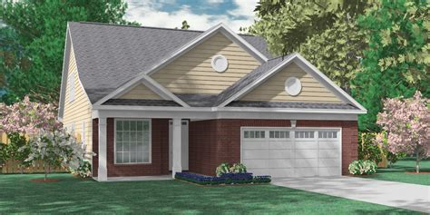 Bungalow House Plans by Southern Heritage Home Designs House Plan 2755 B The