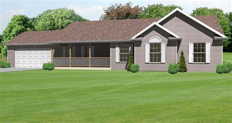 front porch ranch house 1662 sq ft ranch house plan with