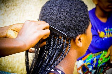 Modele Tresse Fille Africaine