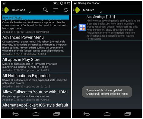 xposed android install xposed framework and its modules on your android device