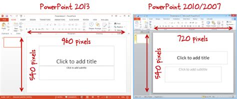 powerpoint template size pixels choosing a presentation size e learning heroes