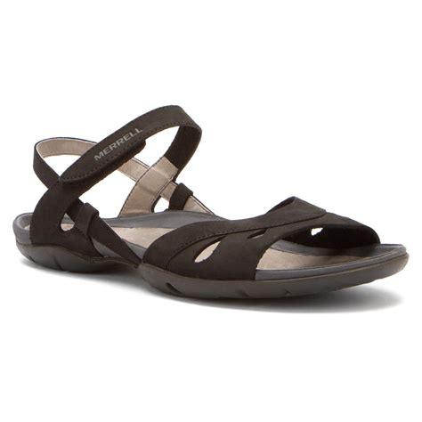 merrell black sandals merrell women s flicker wrap sandals in black sneaker
