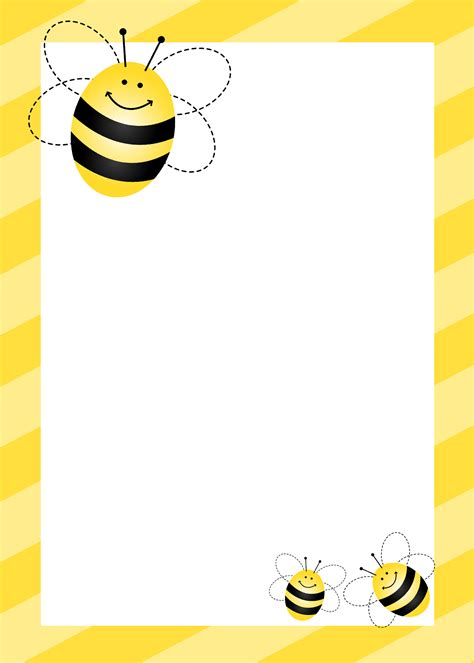 Bumblebee Themed Birthday Party With Free Printables How To Nest For Less Bumble Bee Invitation Template Free