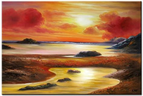 spray painter northern beaches with calm lake canvas background abstract