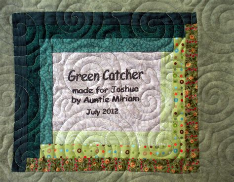 Quilt Label Exles by Exles Of Quilt Labels Images