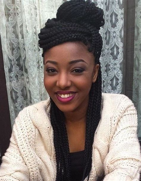box braids hairstyles down top 20 all the rage looks with long box braids