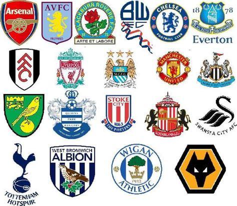 epl draw english premier league team badges 2011 2012 season