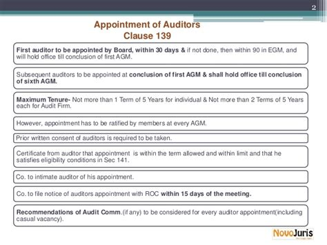 appointment letter to auditor companies act 2013 audit auditors companies act 2013