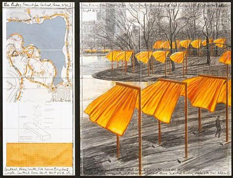 christo biography artist christo fence gate ny nyc 187 fencing