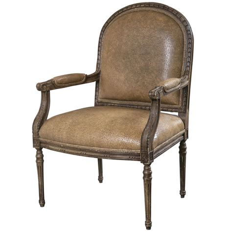 italian leather armchair italian open armchairs with ostrich leather for sale at 1stdibs