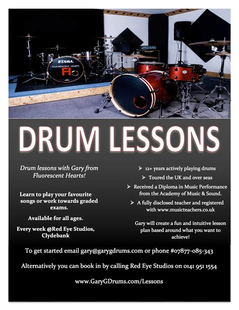 drum tutorial lesson one 1 2 1 drum lessons gary g drums