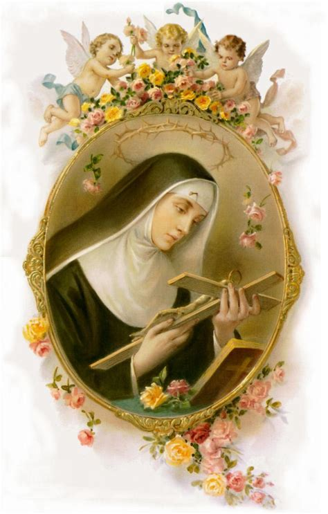 casia foto oraciones cristianas a santa de casia