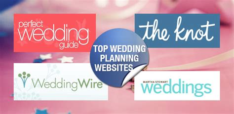 Wedding Planning Websites top wedding planning websites your wedding planning made