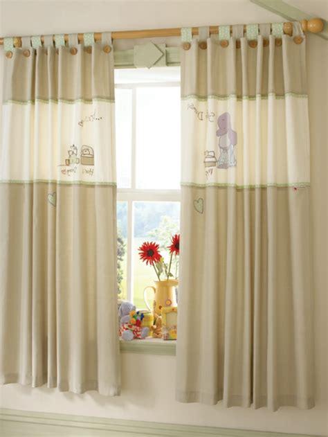 vorhänge mintgrün dekor gardinen babyzimmer