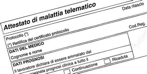 ufficio telematico certificato medico di malattia inps cos 232 e come funziona