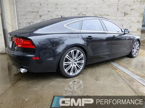 Audi A7 Performance Upgrades 2012 audi a7 with awe exhaust and stasis suspension from