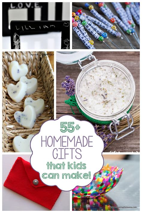 Handmade Gifts Can Make - 55 gifts can make