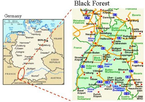 black forest map google search | the butterfly blessing