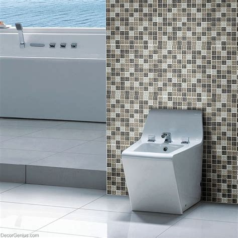 crystal floor tile hot sale glass mosaic kitchen