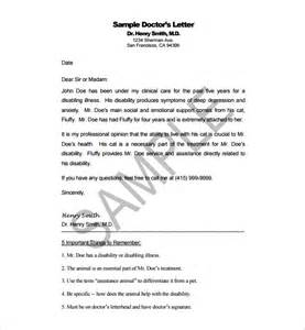 Sample Letter Appreciation Doctor doctor letter template 13 free sample example format download