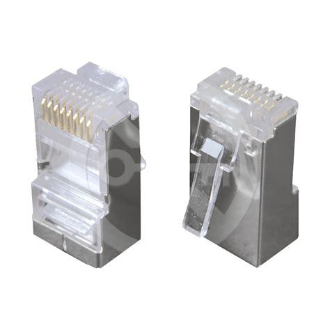 konektor rj45 cat5e stp 8p8c tienen 253 neskladan 253 na dr 244 t krjs45 5sld xd vision s r o