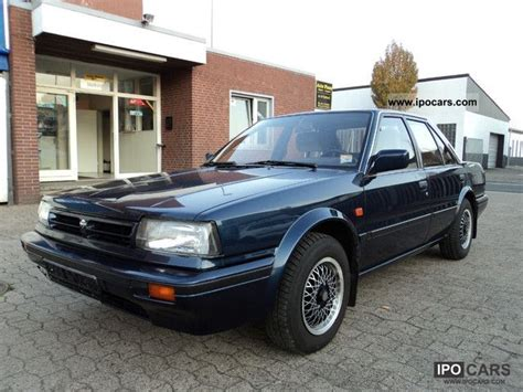 nissan bluebird 1990 1990 nissan bluebird slx 2 0 car photo and specs