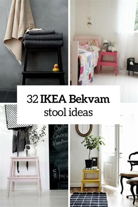 how to rock ikea bekvam stool in your interiors 32 ideas