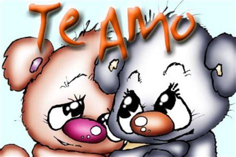 imagenes de amor de animales animados decir te amo con dibujos animados para facebook