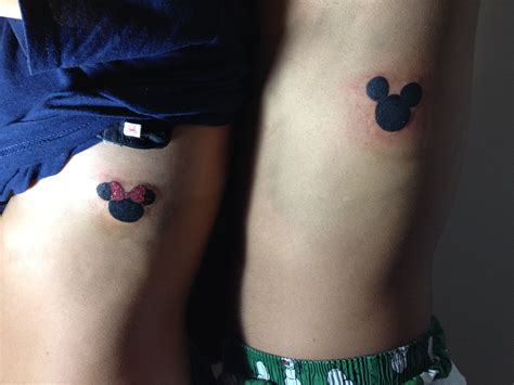 tattoos that couples get disney tattoos disney disney