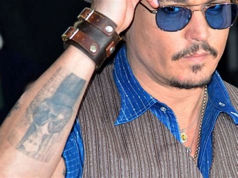 johnny depp baudelaire tattoo ses tatouages page 10