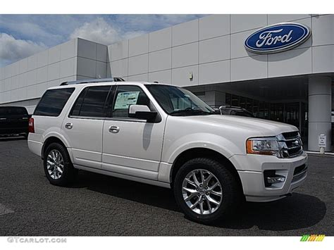 2017 ford expedition platinum 2017 white platinum ford expedition limited 4x4 115164514