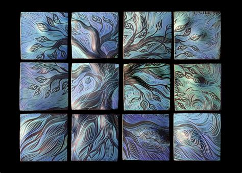 Handmade Ceramic Tile Artists - wall ideas design sensational custom ceramic tile