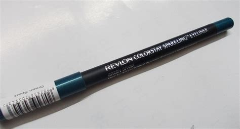 Review Revlon Colorstay Eyeliner by Revlon Colorstay Sparkling Eyeliner Green Sparkle Review