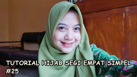 tutorial segi empat youtube tutorial hijab segi empat simpel 25 indahalzami youtube