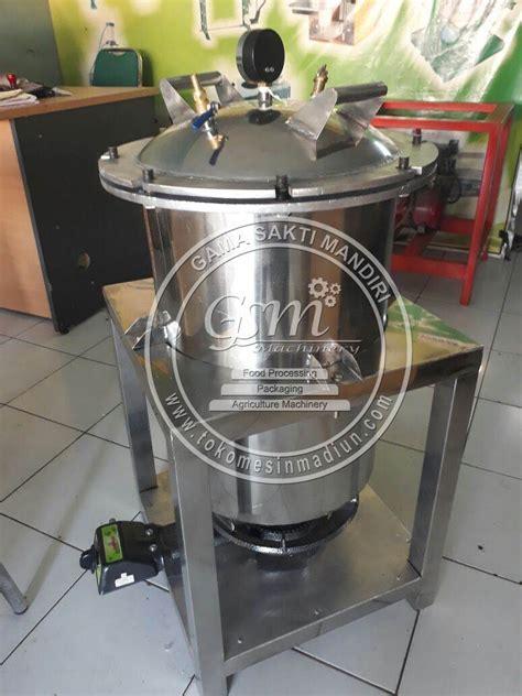 Panci Presto Agrowindo mesin presto ikan bandeng 20 kg toko alat mesin usaha