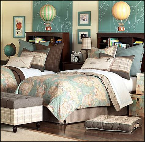 themes for bedrooms hermes bedding posh tots travel theme bedroom decorating
