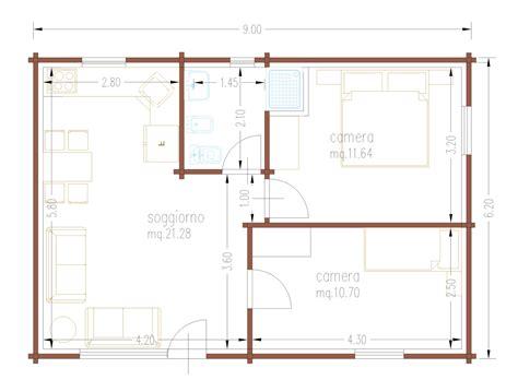 Progetto Casa 60 Mq by Progetti Di In Legno Casa 55 80 Mq