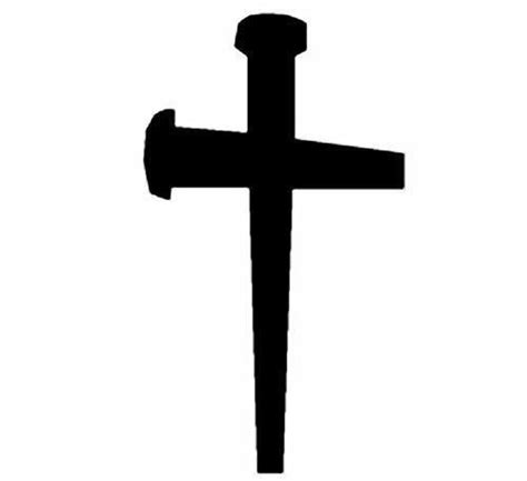 Decorative Crosses For The Home by Metal Hanging Cross Nails 14 Wall Mount Christian Faith