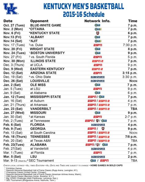 uk basketball schedule and results uk basketball game schedule all basketball scores info