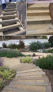 step by step diy garden steps and stairs gardens