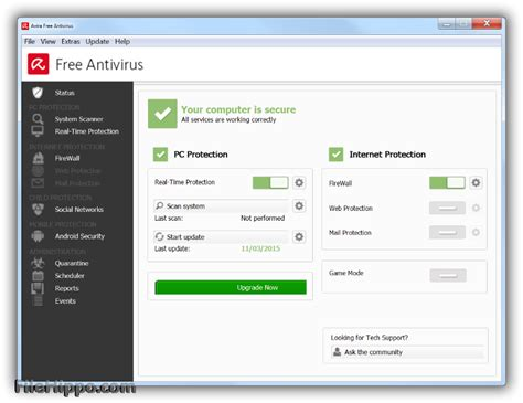 free downloads of avira antivirus software utilities download avira free antivirus 15 0 26 48 filehippo com