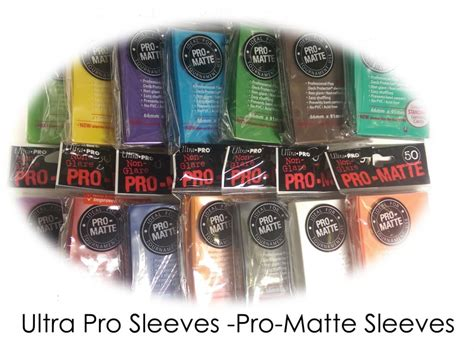 ultra pro pro matte ultra pro card protector sleeves pro matte farbe