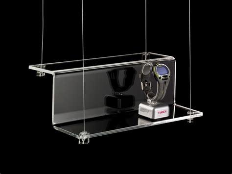 mensole trasparenti mensola sospensione in plexiglass trasparente