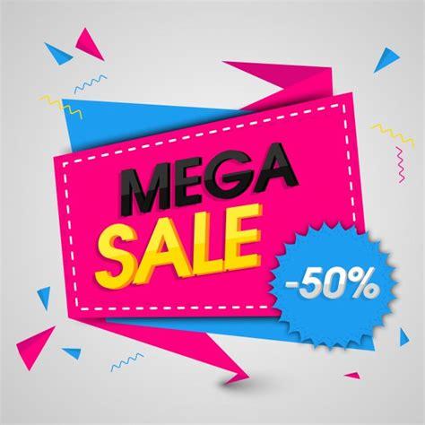 Sharma Designs 50 Sale by Mega Sale Banner O Sale Poster Design Con 50 De Descuento
