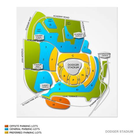 dodger stadium parking dodger stadium parking map vivid seats