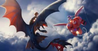 Death battle analysis hiro hamada and baymax vs hiccup and toothless