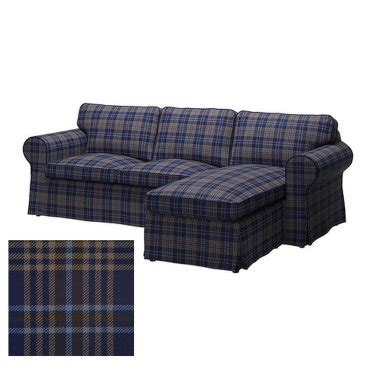 plaid slipcover ikea ektorp loveseat with chaise cover slipcover rutna