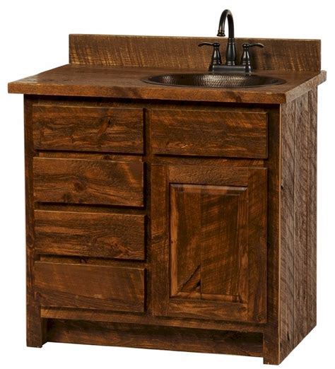 Vanity Store Rustic Bathroom Vanity Stores From Pine Useful Reviews